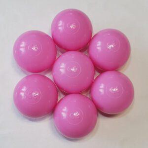 piłki do basenów rożowe