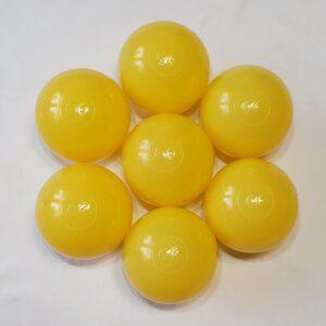 kuleczki żółte